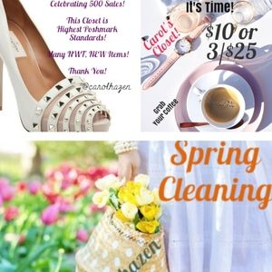 Spring Cleaning as I Celebrate 500 Sales!